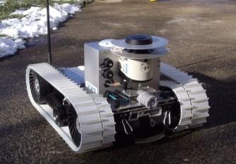 robot autonome cameleon
