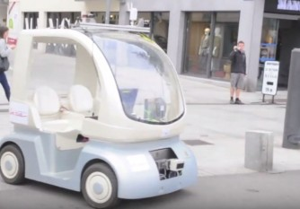 vehicule autonome