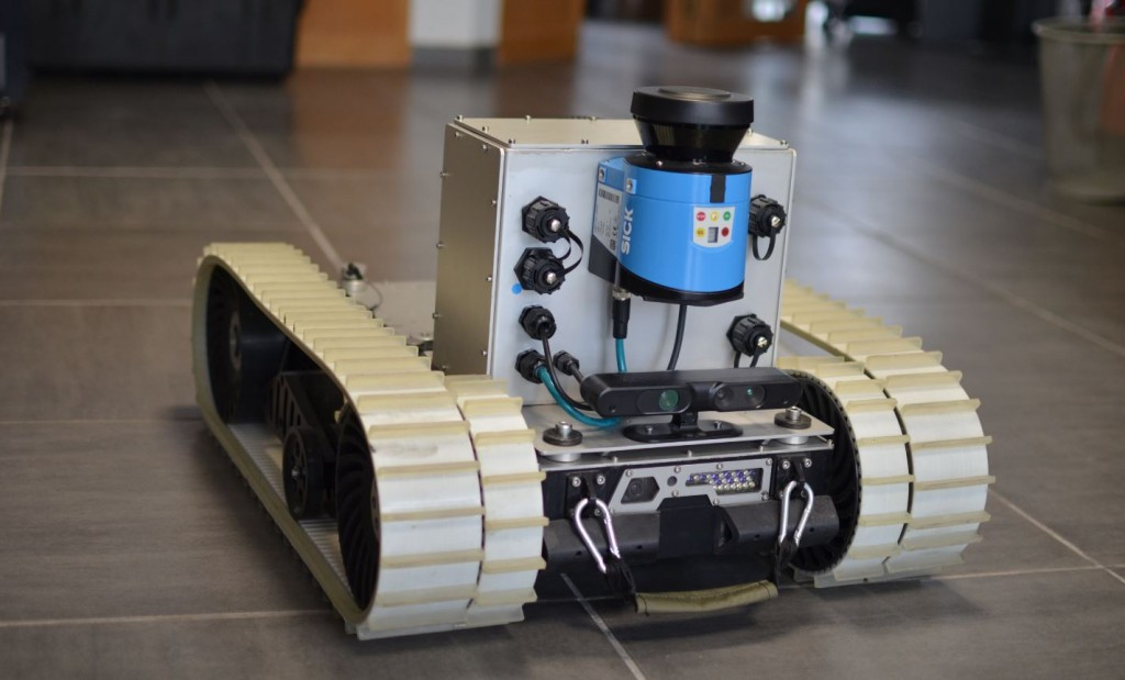 Indoor inspection autonomous robot robopec