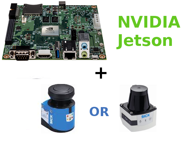 Nvidia Jetson and SICK LMS 100 or SICK TiM 500