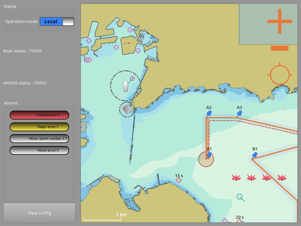 usv map