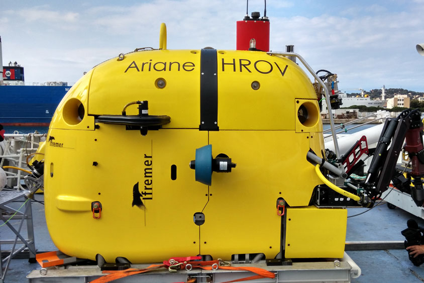 HROV Ifremer Ariane